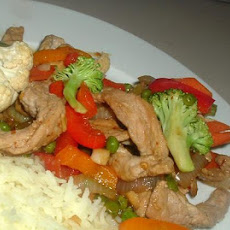 Vegetable Pork Stir-Fry