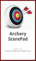 Screenshot of Archery ScorePad