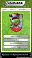 Screenshot of Football Players Quiz