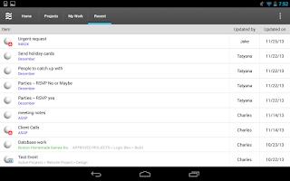 Screenshot of LiquidPlanner