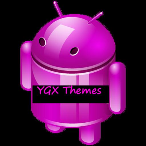 YGX CM10 PinK Theme 個人化 App LOGO-APP試玩