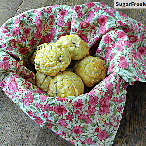 Gluten Free & Low Carb Cheddar Herb Drop Biscuits