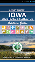 Screenshot of IA State Parks Guide