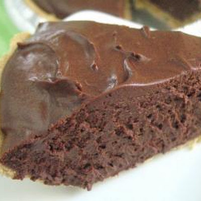 Chocolate Cheese Cake Pie