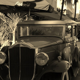 by Jim Keller - Novices Only Street & Candid ( #car #oldcar #ganster #southbeach )