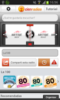 Screenshot of Cienradios