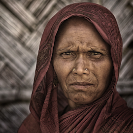 face of Goulpara by Ruzely Abdullah - People Portraits of Women ( canon, phototravel, portraiture, human interest, india )
