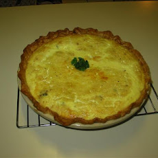 Grandma's Chicken Spinach Quiche