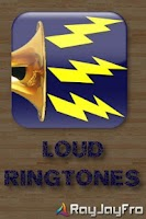 Screenshot of Loud Ringtones