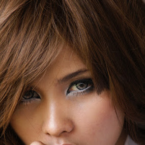 Pacarmu by Andrie Bastian - People Portraits of Women ( face, people, women,  )