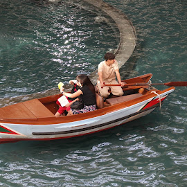 Small Boat by Koh Chip Whye - Transportation Boats (  )