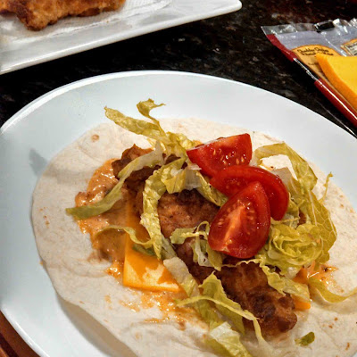 Spicy Chicken Wraps Cooked the Right Way!
