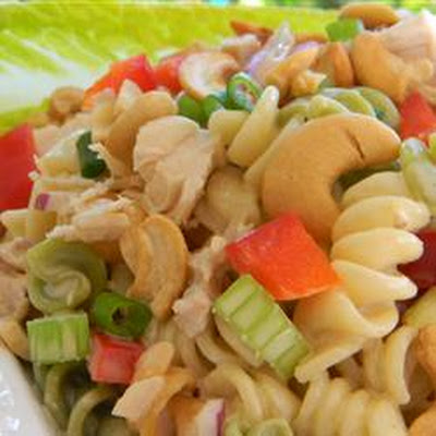 Cashew Turkey Pasta Salad