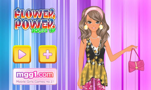 flower-power-dress-up for android screenshot