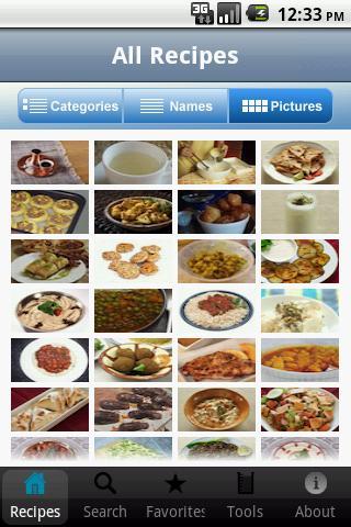 100 Lebanese Recipes - screenshot