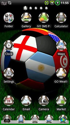 Soccer GO Launcher EX Theme