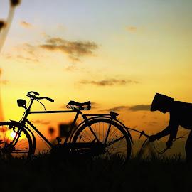 Pit Jowo Lanang by Arie Dexz - Transportation Bicycles