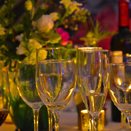 After the wedding by Lynn Whitcher - Food & Drink Alcohol & Drinks ( wine, glasses, wedding, drink )