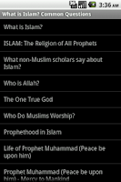 Screenshot of What is Islam?