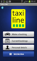 Screenshot of TAXI LINE