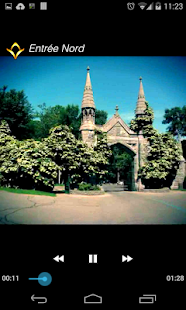 Mount Royal Cemetery Geoguide - screenshot