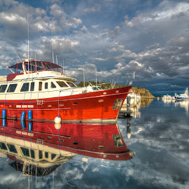 Big Red by Eddie Murdock - Transportation Boats