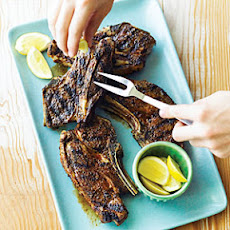 Grilled Lamb Shoulder Chops with Pimentón Rub