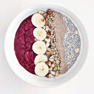Raspberry Chia Overnight Oats