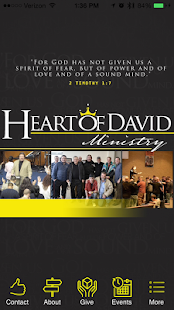 Heart of David Ministry - screenshot
