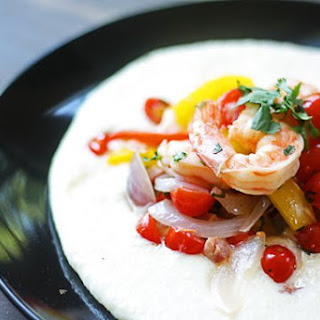 Chef Geoff's Shrimp and Very Gouda Grits