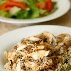 French-Style Stuffed Chicken Breasts