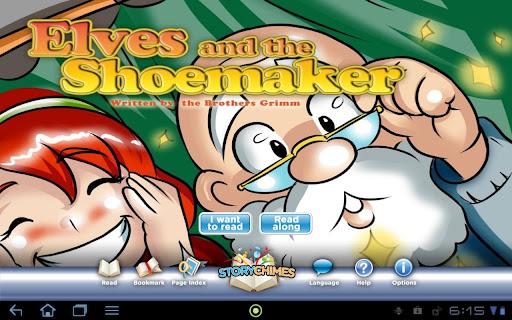 Elves Shoemaker StoryChimes