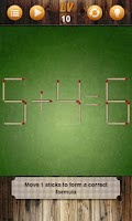 Screenshot of Battle Matchstick Puzzle
