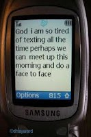 Screenshot of PRAYphone