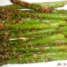 Easy and Quick Sesame Asparagus