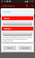 Screenshot of Rastreador celular/celular SMS