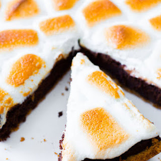 S'mores Brownie Pie