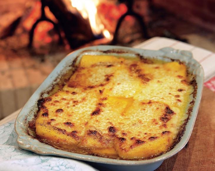 ... polenta pumpkin polenta taleggio polenta polenta bread gf cf creamy