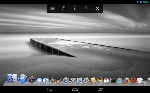 Screenshot #1 of VNC Viewer / Android