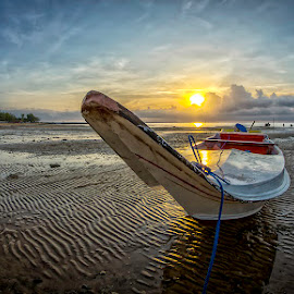 Fisherman Boat by Ussdek Masri - Landscapes Beaches