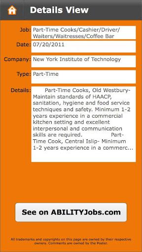 【免費生活App】ABILITY Jobs-APP點子