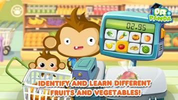 Screenshot of Dr. Panda's Supermarket