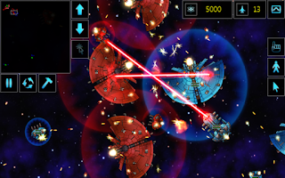 Screenshot of Star Armada RTS