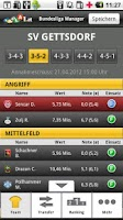 Screenshot of LAOLA1 Bundesliga Manager