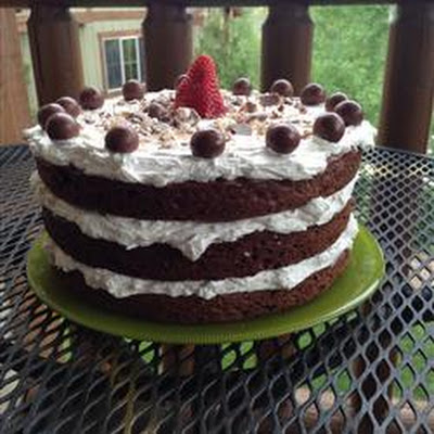 Chocolate Candy Bar Cake