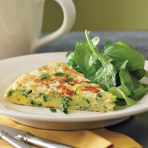 Zucchini, Goat Cheese And Basil Frittata Recipes — Dishmaps
