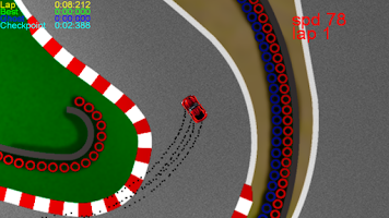 Screenshot of Z-Car Racing