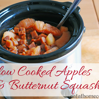 Slow Cooked Apples and Butternut Squash – Easy Side Dish