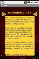Screenshot of A Complete Ramadan Guide