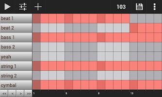 Screenshot of Groove Mixer. Music Beat Maker